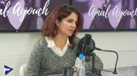 """Amal Ayouch: """"Je crois en l'humain. Je crois en ses potentialités. Je crois en son intelligence""""."""
