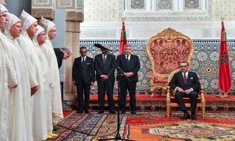 S.M. le Roi reçoit les nouveaux walis et gouverneurs au niveau des administrations territoriale et centrale