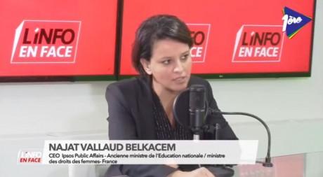 Najat Vallaud-Belkacem : les débats sur l'éducation sont généralement très sensibles