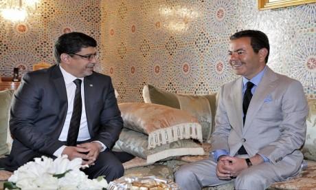 Video : Sur ordre de S.M. le Roi, S.A.R. le Prince Moulay Rachid reçoit un émissaire du président mauritanien, porteur d'un message au Souverain