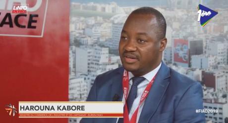 Harouna Kabore, invité de l'Info en Face spécial FIAD