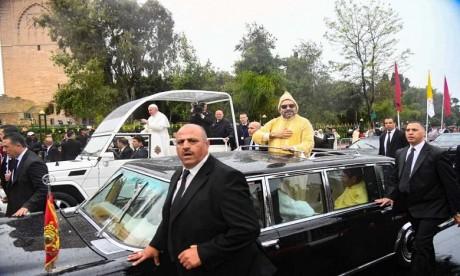 Video : Discours de Sa Sainteté le Pape François à l'occasion de sa visite au Maroc
