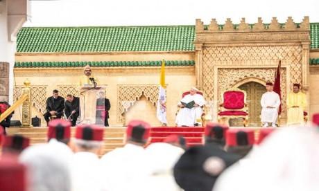 Video : Discours de S.M. le Roi à l'occasion de la visite de Sa Sainteté le Pape François au Maroc