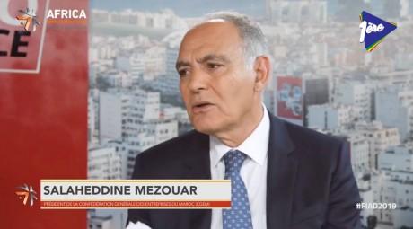 Salaheddine Mezouar motivé par l'avenir du patronat