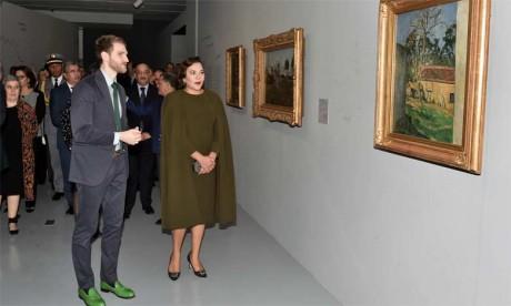 Video : S.A.R. la Princesse Lalla Hasnaa préside à Rabat l'inauguration de l'exposition «Les couleurs de l'impressionnisme : chefs-d'oeuvre des collections du Musée d'Orsay»