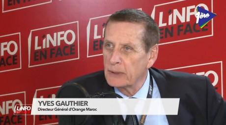 Yves Gauthier, DG Oragne Maroc, invité de l'Info en Face