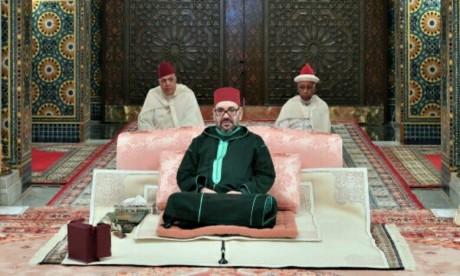 S.M. le Roi, Amir Al-Mouminine, préside la troisième causerie religieuse du mois sacré du Ramadan