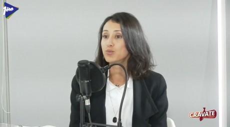 Cravate Club Femmes en entreprise avec Narjis Hilale