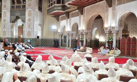 S.M. le Roi, Amir Al-Mouminine, préside la quatrième causerie religieuse du mois sacré du Ramadan