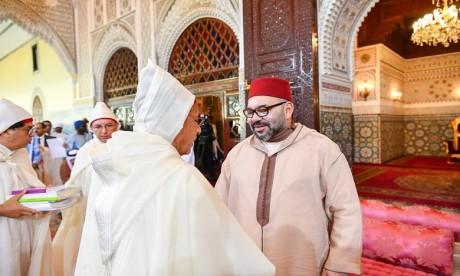 Video : S.M. le Roi, Amir Al Mouminine, préside la sixième causerie religieuse du mois de Ramadan