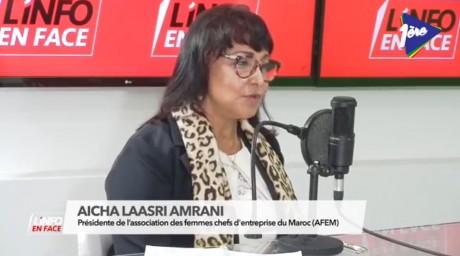 AFEM : présidente ou pas, Aicha Amrani répond