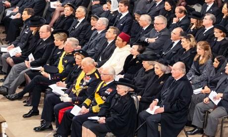 Video : S.A.R. le Prince Moulay Rachid représente S.M. le Roi aux funérailles du Grand-Duc Jean de Luxembourg