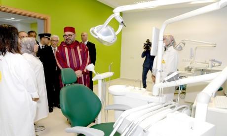 Video : S.M. le Roi inaugure à Rabat le Centre régional des soins bucco-dentaires