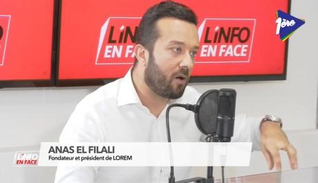 Anas El Filali, invité de L'Info en Face