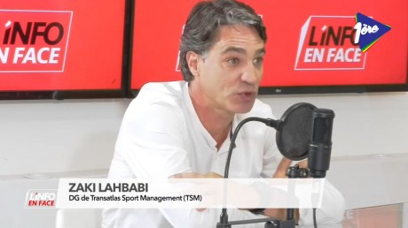 Zaki Lahbabi, invité de L'Info en Face