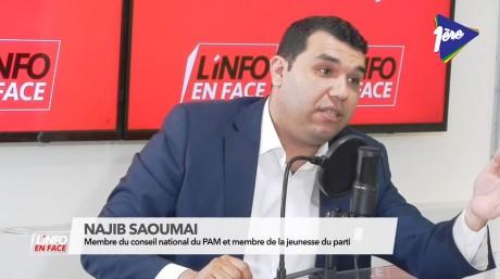 PAM : ce que pense Najib Saoumai de Abdellatif Ouahbi
