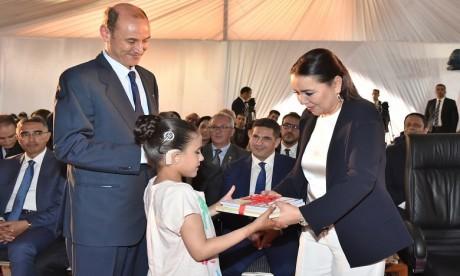 Video : S.A.R. la Princesse Lalla Asmae préside la cérémonie de fin d'année scolaire 2018-2019 de la Fondation Lalla Asmae pour Enfants et Jeunes Sourds