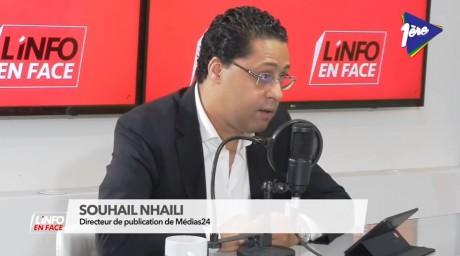 Souhail Nhaili, invité de L'Info en Face