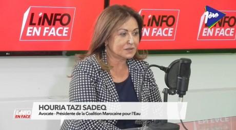 Houria Tazi Sadeq, invitée de L'Info en Face