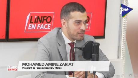Mohamed Amine Zariat, invité de L'Info en Face