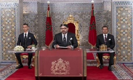 Video : Sa Majesté le Roi adresse un Discours à la Nation à l'occasion de la Fête du Trône