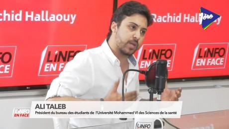Ali Taleb invité de L'Info en Face