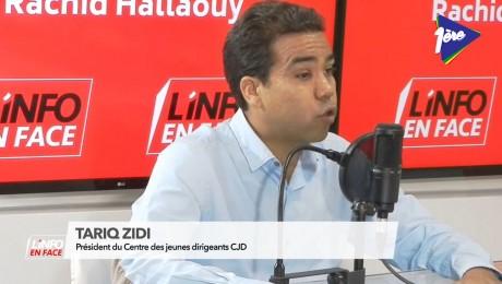 Tariq Zidi invité de L'Info en Face