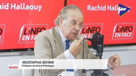 Mustapha Sehimi, invité de l'Info en Face