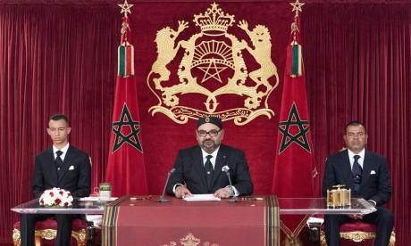 Discours royal à l'occasion du 66e anniversaire de la Révolution du Roi et du Peuple