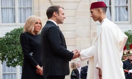 S.A.R. le Prince Héritier Moulay El Hassan représente S.M. le Roi aux obsèques officielles du président français Jacques Chirac