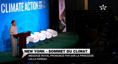 S.M. le Roi adresse un Message au Sommet Action Climat