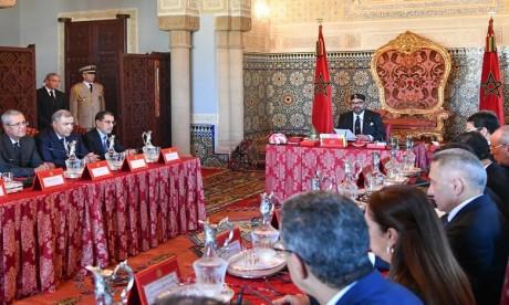 Video : Sa Majesté le Roi préside à Rabat un Conseil des ministres
