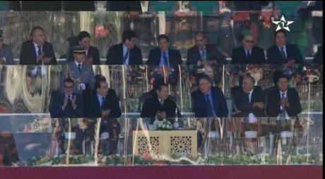 S.A.R. le Prince Moulay Rachid préside à Oujda la finale de la Coupe du Trône de football