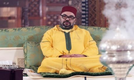 S.M. le Roi, Amir Al-Mouminine, préside à Marrakech une veillée religieuse en commémoration de l'Aïd Al-Mawlid Annabaoui Acharif