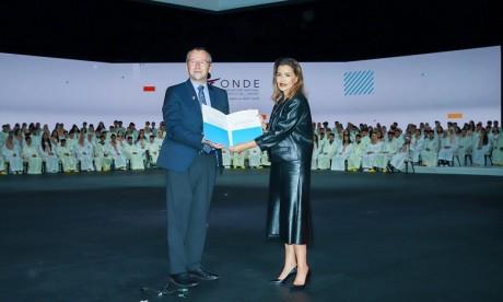 S.A.R. la Princesse Lalla Meryem préside la cérémonie de clôture de la 16è édition du Congrès National des Droits de l'Enfant