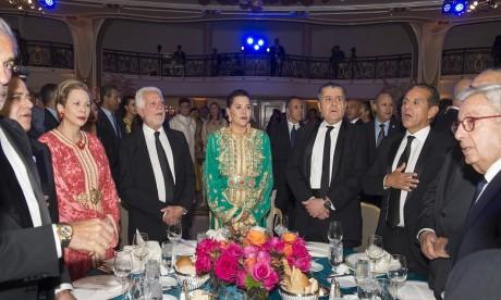 S.A.R. la Princesse Lalla Hasnaa préside à Los Angeles un Dîner de Gala honorant la Dynastie Alaouite