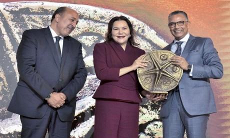 """S.A.R. la Princesse Lalla Hasnaa préside à Bouknadel la cérémonie de remise des trophées Lalla Hasnaa du """"littoral durable"""" 2019"""