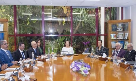 S.A.R. la Princesse Lalla Hasnaa préside le Conseil d'administration de la Fondation Mohammed VI pour la Protection de l'Environnement