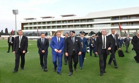 Salé: S.M. le Roi inaugure le Complexe Mohammed VI de Football, une structure intégrée dédiée à la performance et à l'excellence