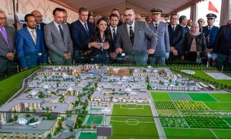 S.M. le Roi lance les travaux de construction de la Cité des Métiers et des Compétences d'Agadir