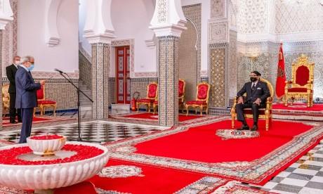 Sa Majesté le Roi Mohammed VI reçoit Wali Bank Al-Maghrib