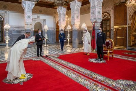 S.M. le Roi Mohammed VI procède à de nouvelles nominations