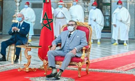 S.M. le Roi préside la cérémonie de lancement du projet de fabrication et de mise en seringue du vaccin anti-Covid19 et autres vaccins