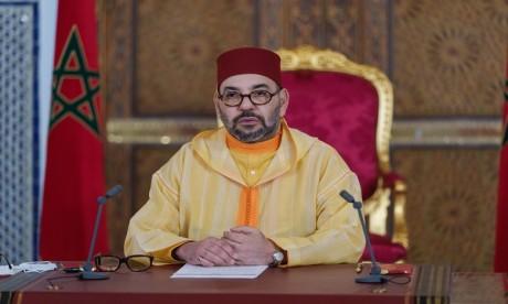 S.M. le Roi Mohammed VI adresse un discours au Parlement