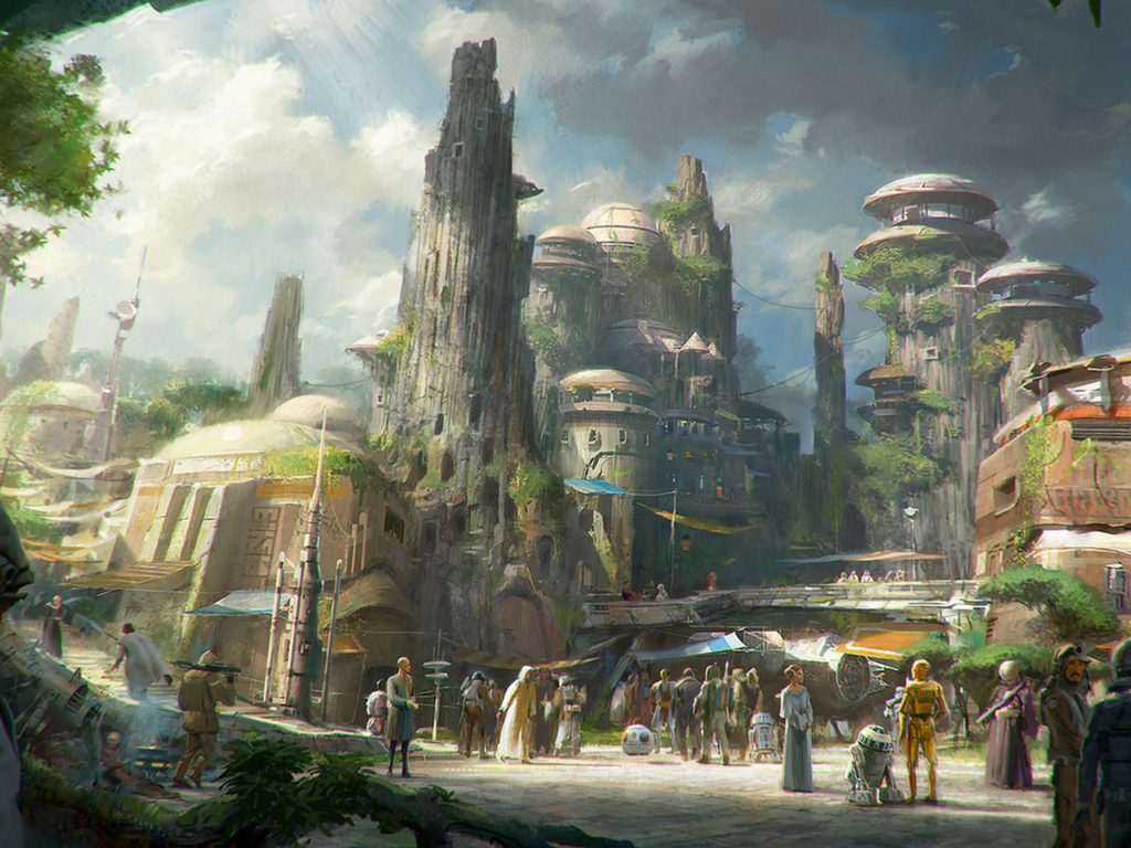 Tout le monde se tait ! Découvrez la bande annonce des nouveaux parcs Disney Star Wars.