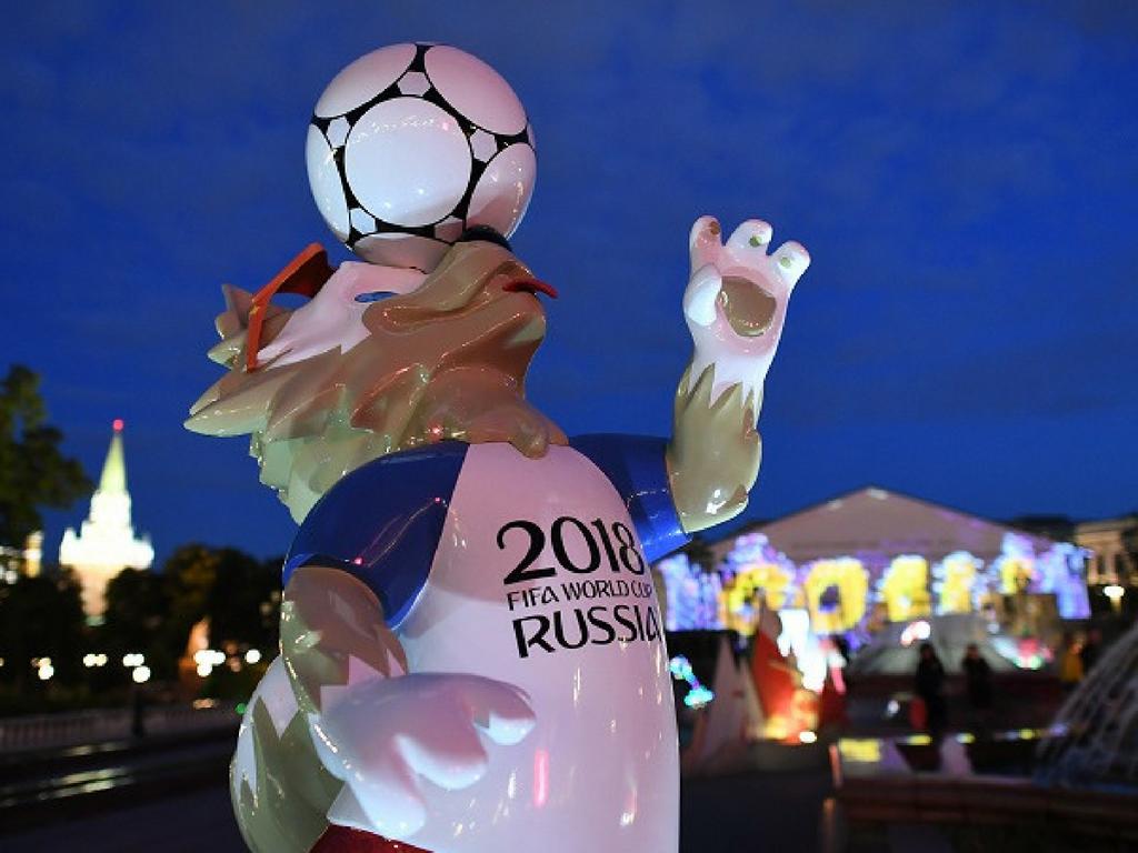 Carton jaune environnemental pour La Coupe du Monde en Russie