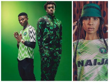 La collection spéciale Coupe du Monde des maillots du Nigeria fait un carton chez les amateurs de mode.