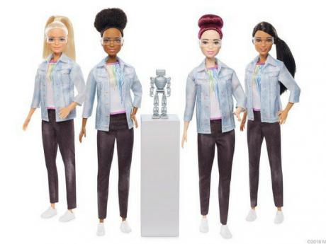 Mattel veut inciter les filles à coder avec sa Barbie ingénieure en robotique.