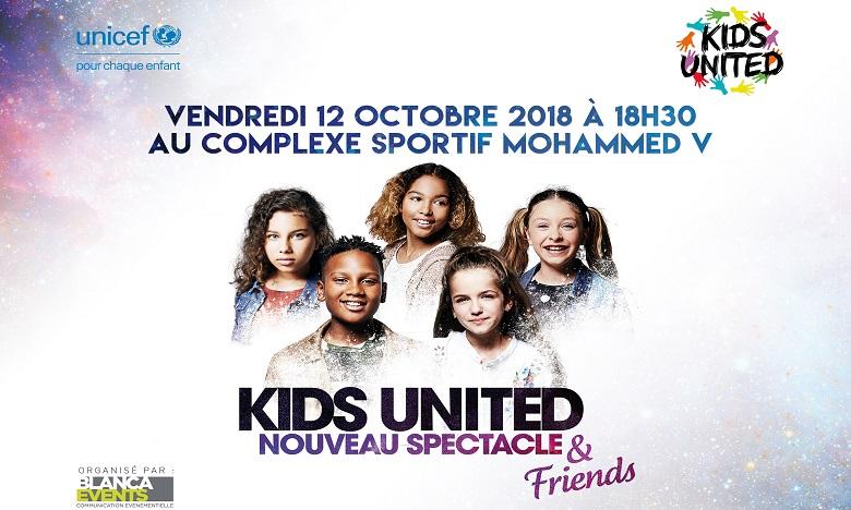 Voici la nouvelle date du concert des Kids United