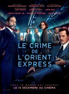 film LE CRIME DE L'ORIENT D'EXPRESS